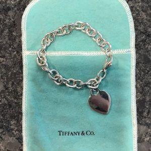 Tiffany & Co. Jewelry - Tiffany Hearts Collection Heart Tag Charm Bracelet